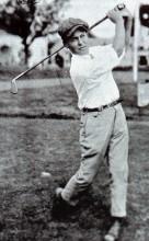 Bobby Jones v mladých letech