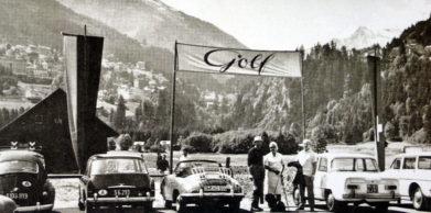 Jedním z nových poválečných klubů byl i Golf Club Gastein, který vznikl u známého lázeňského střediska Bad Gastein na jihu spolkové země Salzburg. Hřiště zde bylo vyprojektováno už v roce 1938, ale nakonec se hrálo až od roku 1963. Dřevěná budova vlevo na snímku je klubovna.