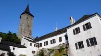Hrad Roštejn, z věže je skvělá vyhlídka