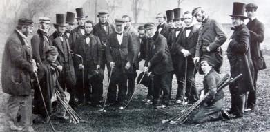 Golfisté druhé poloviny 19. století