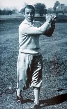 Gene Sarazen, postavou malý, ale hrou velikán. Byl jednou z největších hvězd amerického golfu 20. a 30. let.