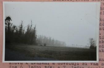 Snímek z konce 30. let, jejichž autorem je patrně Josef Charvát. Zobrazují lokalitu Obora u Poděbrad, na levém břehu Labe, kde se uvažovalo o tom, že zde bude stát golfové hřiště.