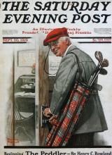 Solidní pán prchá z práce na golf. Nad stolem je sice nápis Do It Now, ale golf je přednější. Od roku 1919 se skutečně nic nezměnilo.