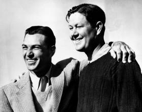 Vlevo Ben Hogan, vpravo Byron Nelson