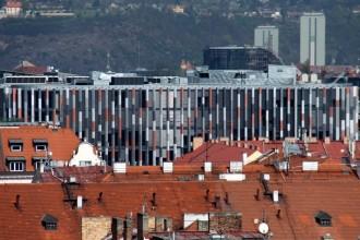 Velmi pěkná, oceněná kancelářská budova v Karlíně