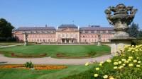 Rokový zámek Dobříš, francouzská zahrada