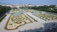 Zahrada paláce Belveder