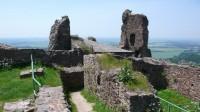 Z hradu Lichnice směrem k Čáslavi