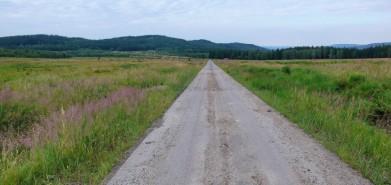 Cesta na ploše Brda