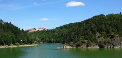 Hrad Bítov na Vranovské přehradě
