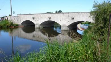 Kamenný putimský most z poloviny 19. století