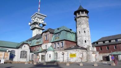Klínovec 2012, ještě před rekonstrukcí v r. 2013