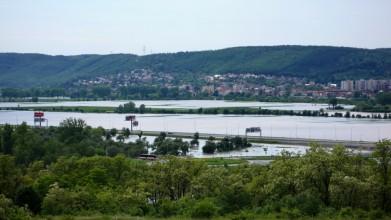 Soutok Vltavy a Berounky