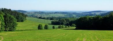 Pohled směrem na sever, od Budenína