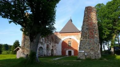 Pohoří na Šumavě - zbytky kostela