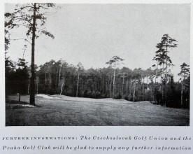 Snímek jedné z jamek klánovického hřiště, pochází pravděpodobně až z poválečné éry