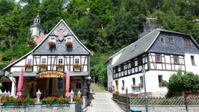 Původní architektura Lužických hor v Oybinu
