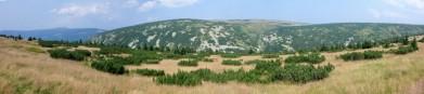 Panorama Stříbrného návrší
