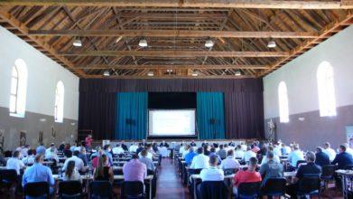 Volební konference se konala v bývalé jízdárně na zámku v Bechyni