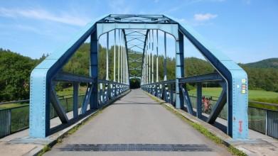 Most ve Skryjích, postavený v letech 1946-1948