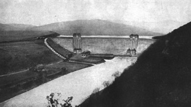 Jedna z možných variant, jak měla přehrada Křivoklát vypadat
