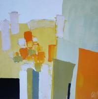 Christian Choisy - Bílé a žluté květy