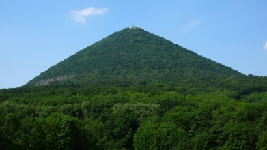 Hora má dokonalý kupovitý tvar