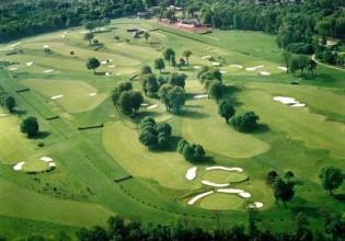 Golf de Compiegne dnes, hrál se zde první golfový olympijský turnaj 1896