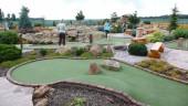 Hřiště adventure golfu v Horním Bezděkově u Kladna