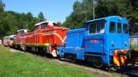 Historické lokomotivy jizerskohorské zubačky
