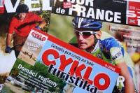 V Česku vychází několik cyklistických časopisů, především jsou to měsíčníky