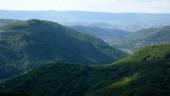 Pohled do údolí Labe, směrem k Ústí