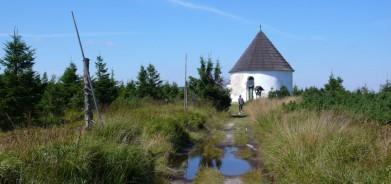 Kunštátská kaple v Orlických horách