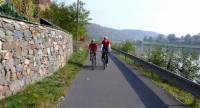 Cyklostezka u Vltavy, z Tróje do Roztok