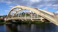 Štechovický most z konce 30. let 20. století