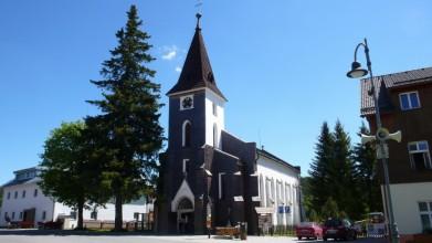 Kostel v Kvildě