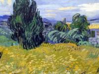 Detail obrazu prozrazuje malířovu techniku