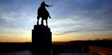 Praha, Vítkov, socha Jana Žižky
