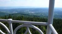 Výhled z Tisovského vrchu