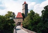 Hrad Zvíkov, obranná věž s břitem