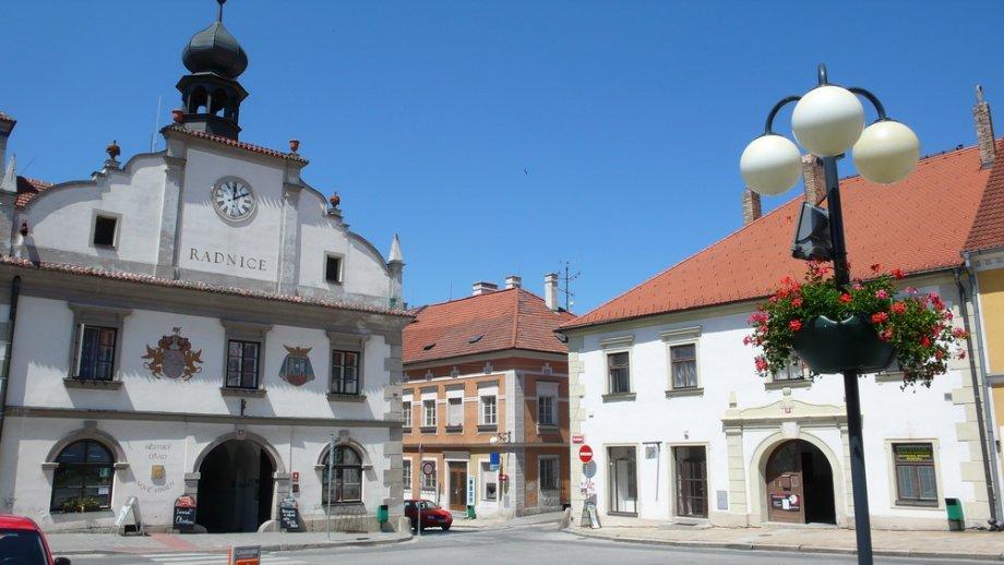 Image result for Nové Hrady v jižních Čechách namesti